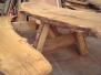 Bord-og-Bænkesæt i egetræ til salg
