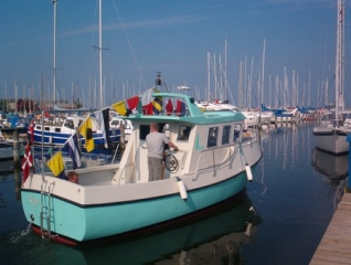 Fritidsbåd, Rødvig 800, Lissie, udført i glasfiber