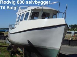 Rødvig 800 - Håbet - Rødvig Tank på styrehustaget