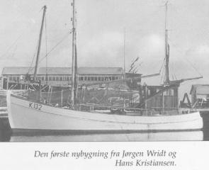 Den første nybygning fra Jørgen Wridt og Hans Kristiansen